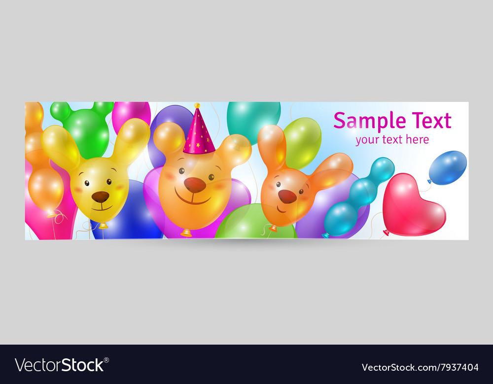 Festive background banner template