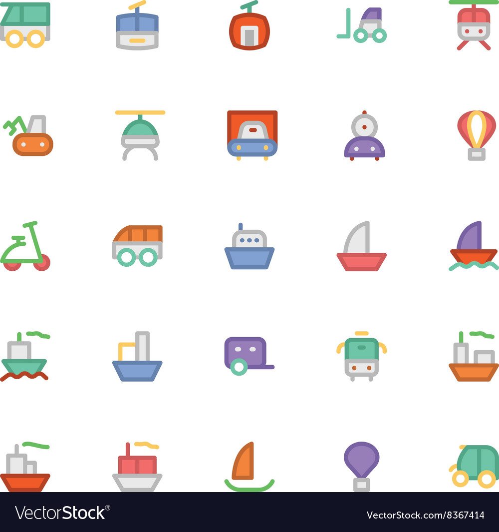 Transport icons 3