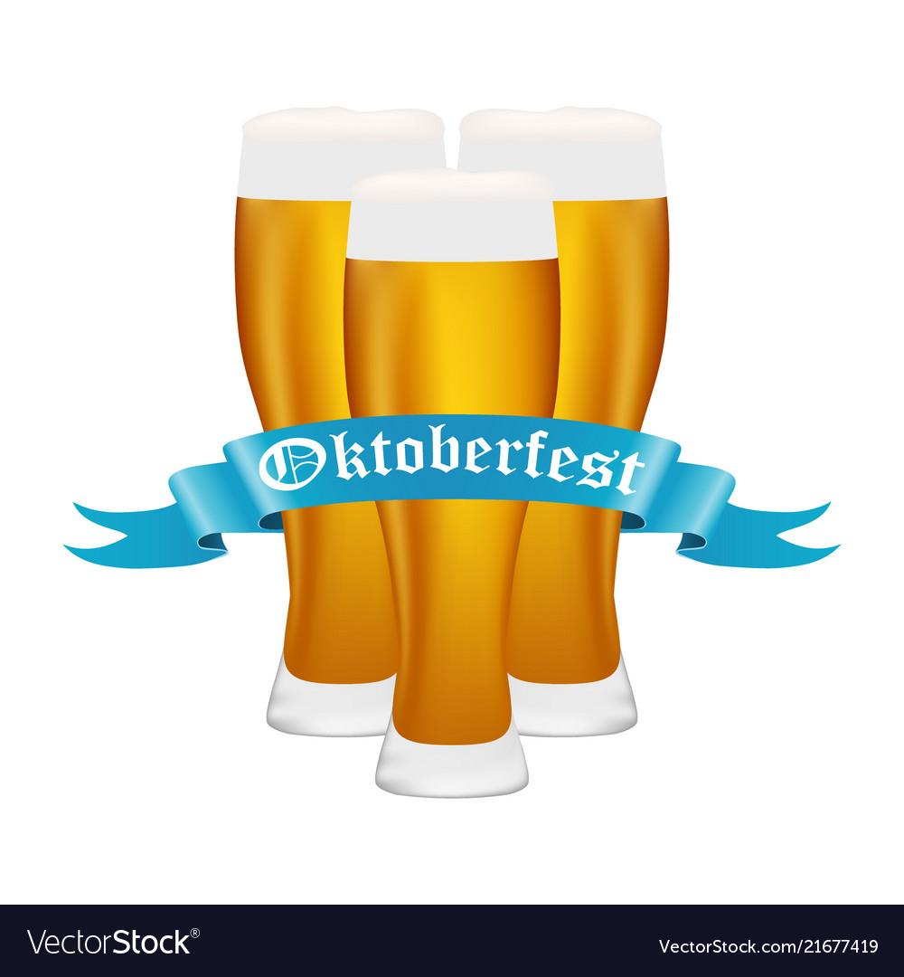 Beer on oktoberfest