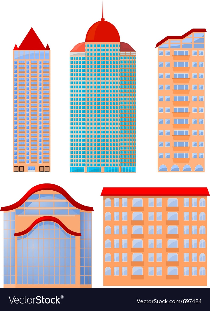 Apartments vector image