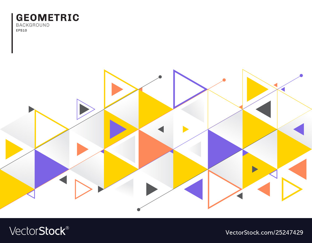 Abstract background template with colorful