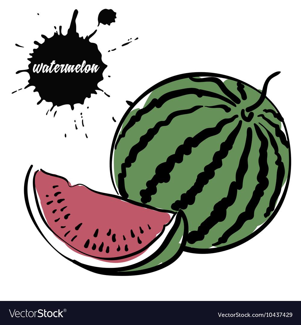 Berry juicy watermelon