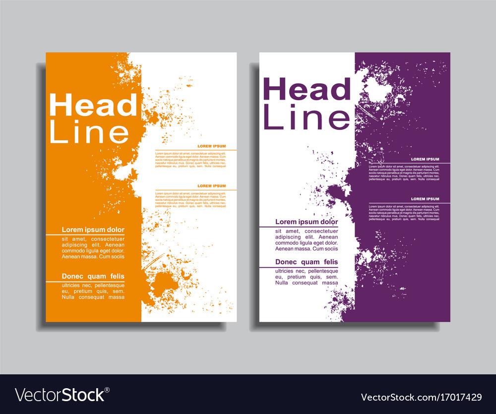 book cover design template