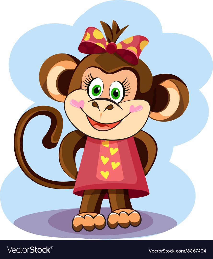 Cute Monkey Girl