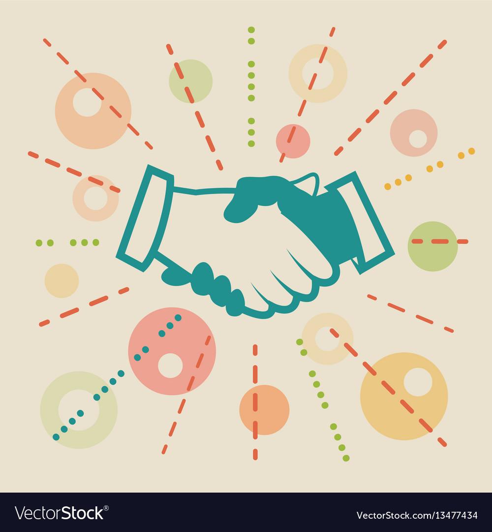 Handshake concept business