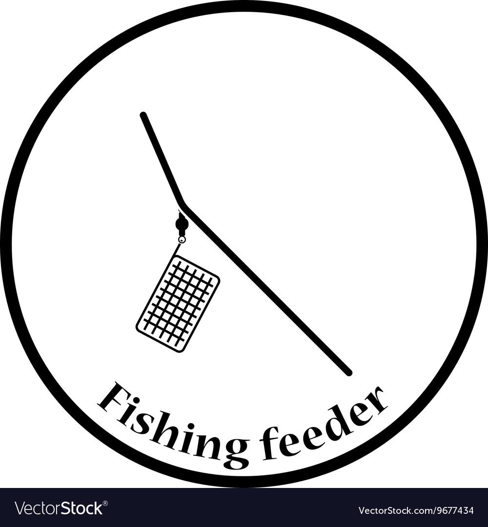 Icon of fishing feeder net