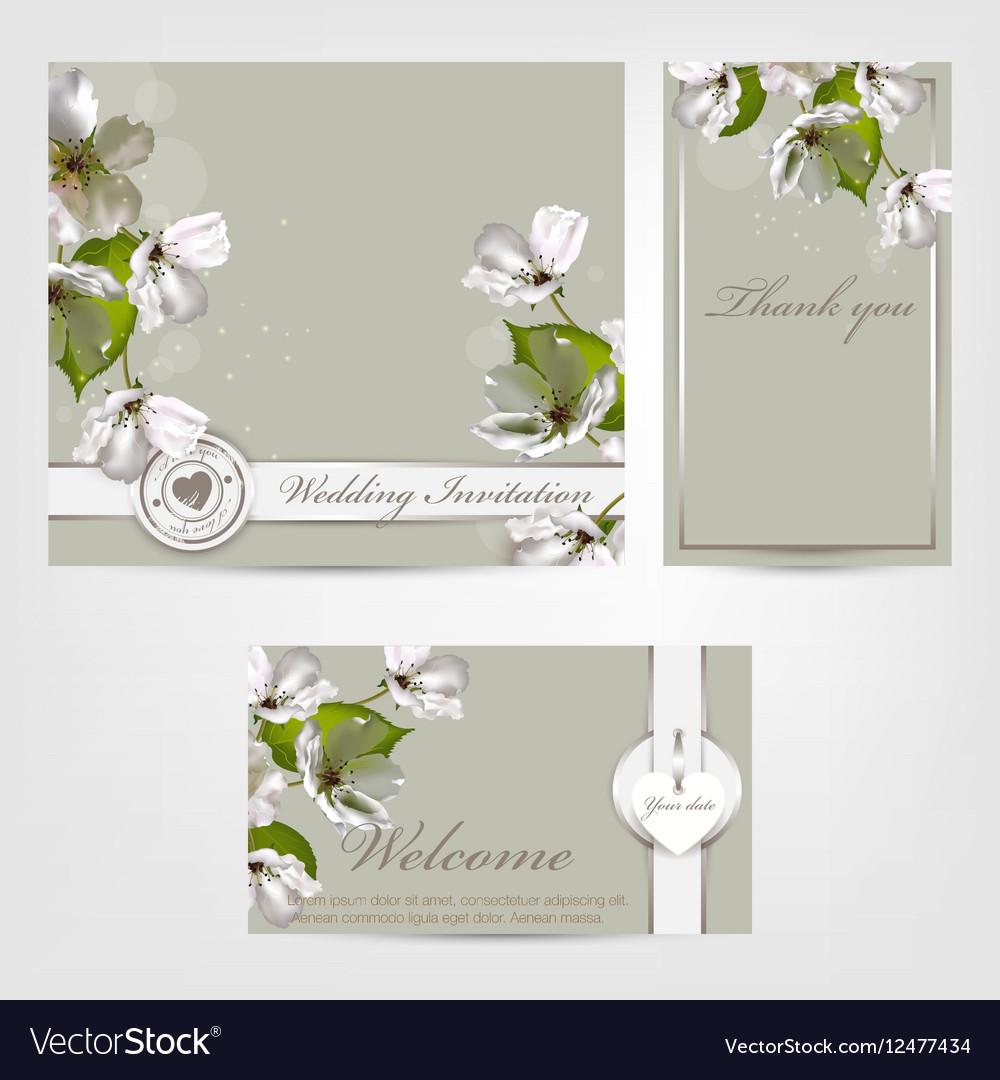 Wedding invitation Apple