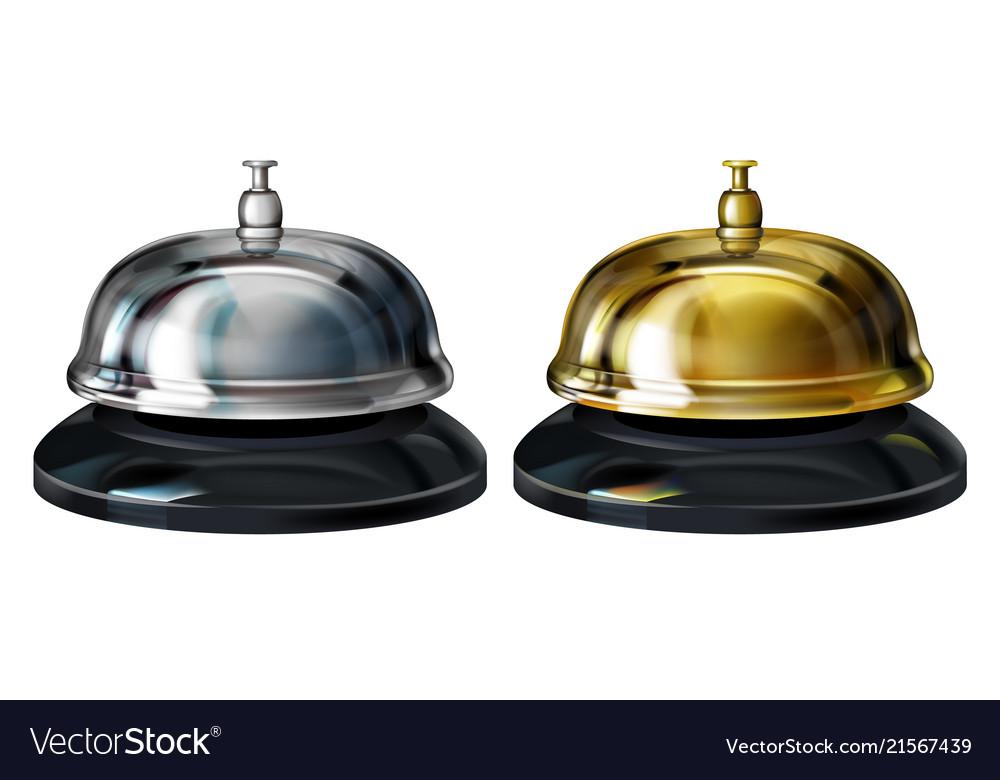 Service bells 3d realistic