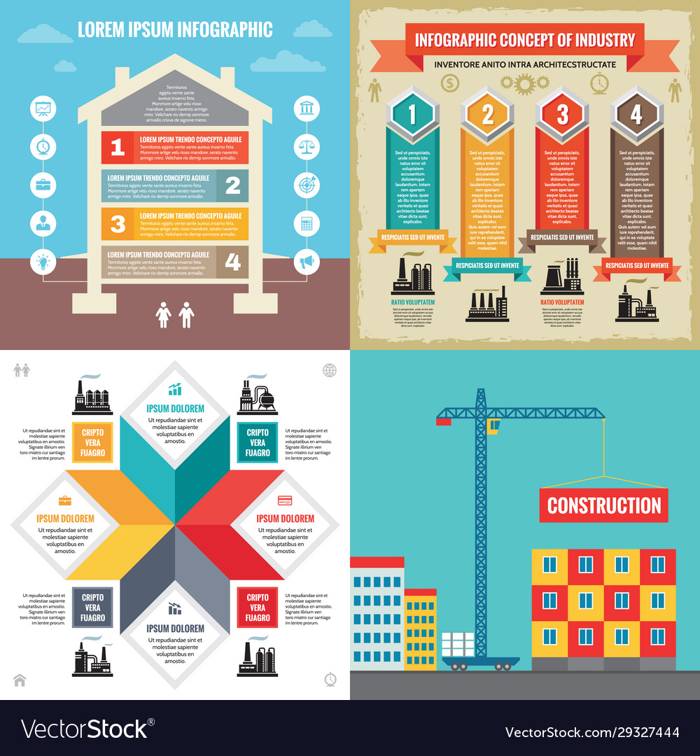 Business infographic templates concept