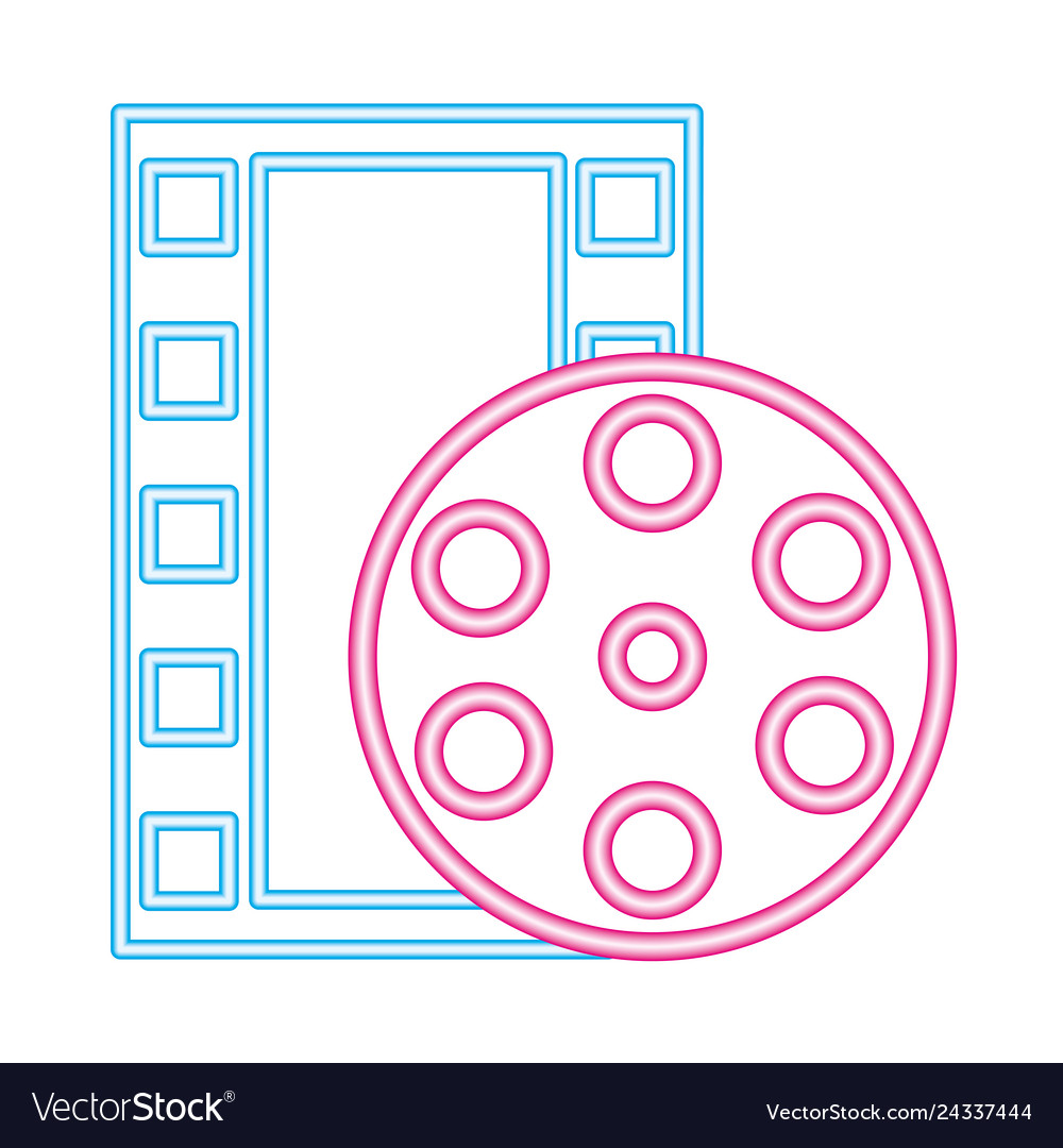 Cinema movie neon