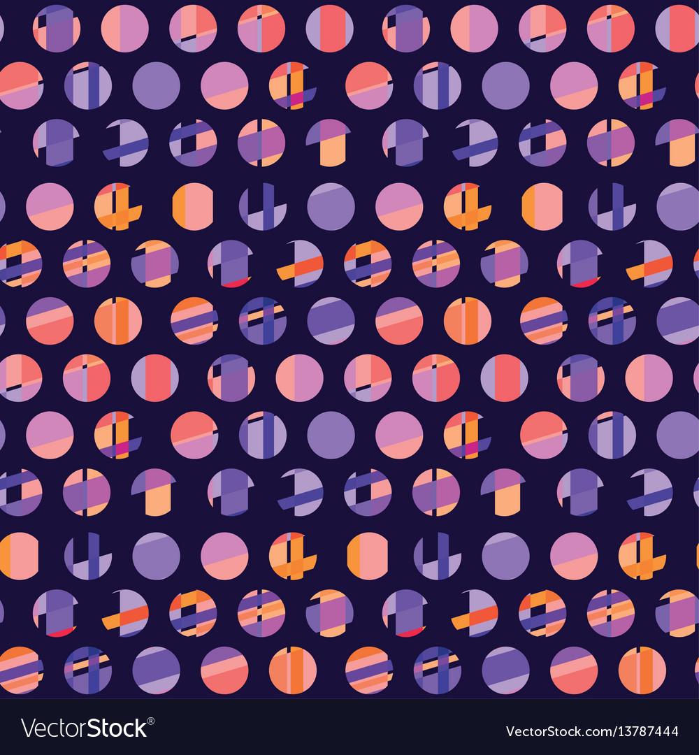 Concept modern polka dot seamless pattern surface