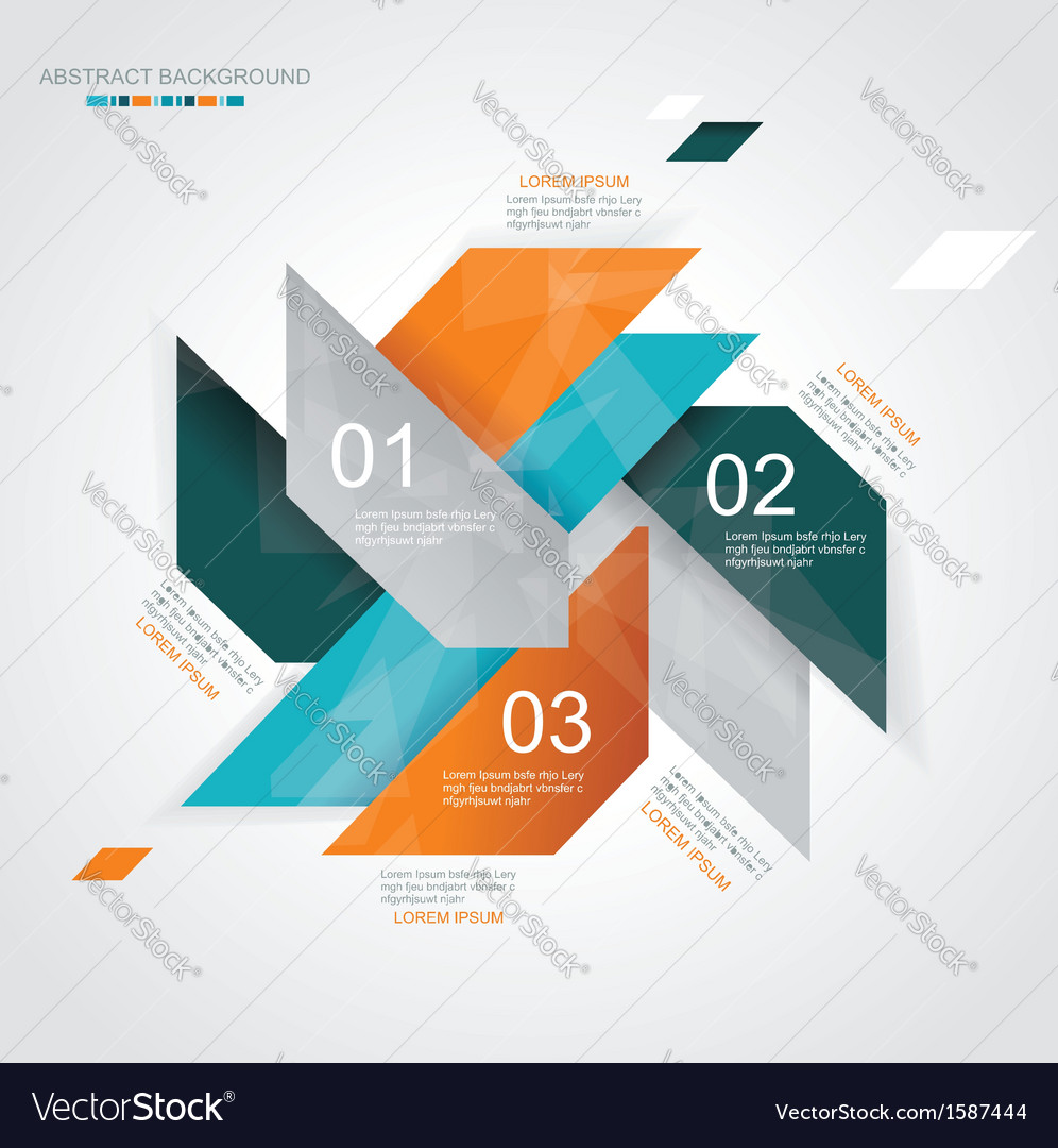Modern infographics template style