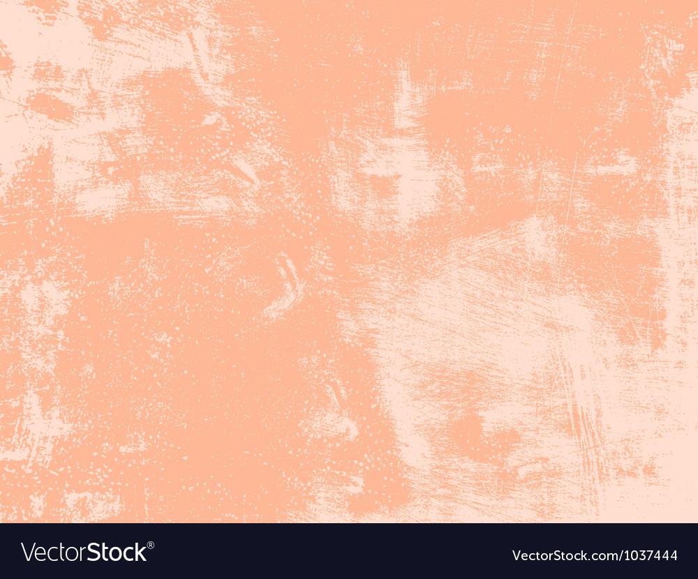 Peach Grunge Texture vector image