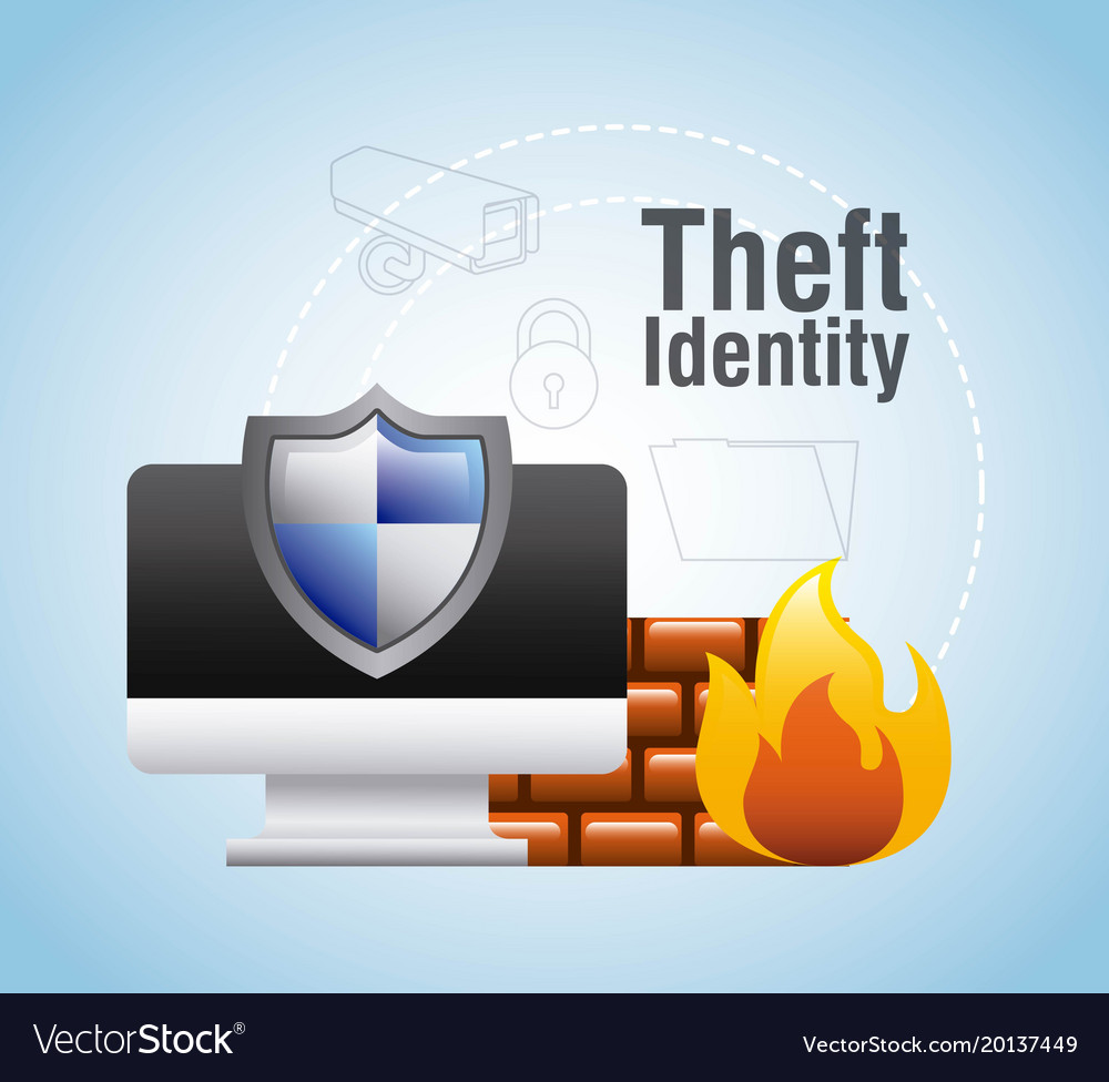 Theft identity computer protection firewall safety