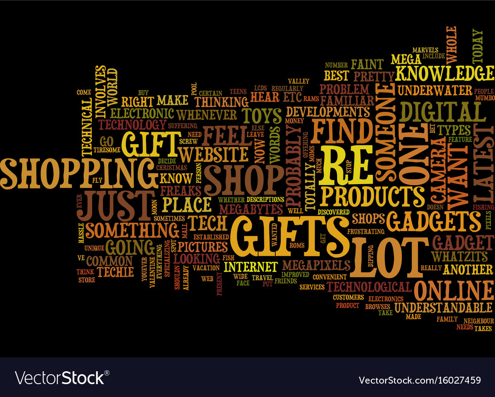 Christmas Gifts For Techies.Gifts For Techies Text Background Word Cloud
