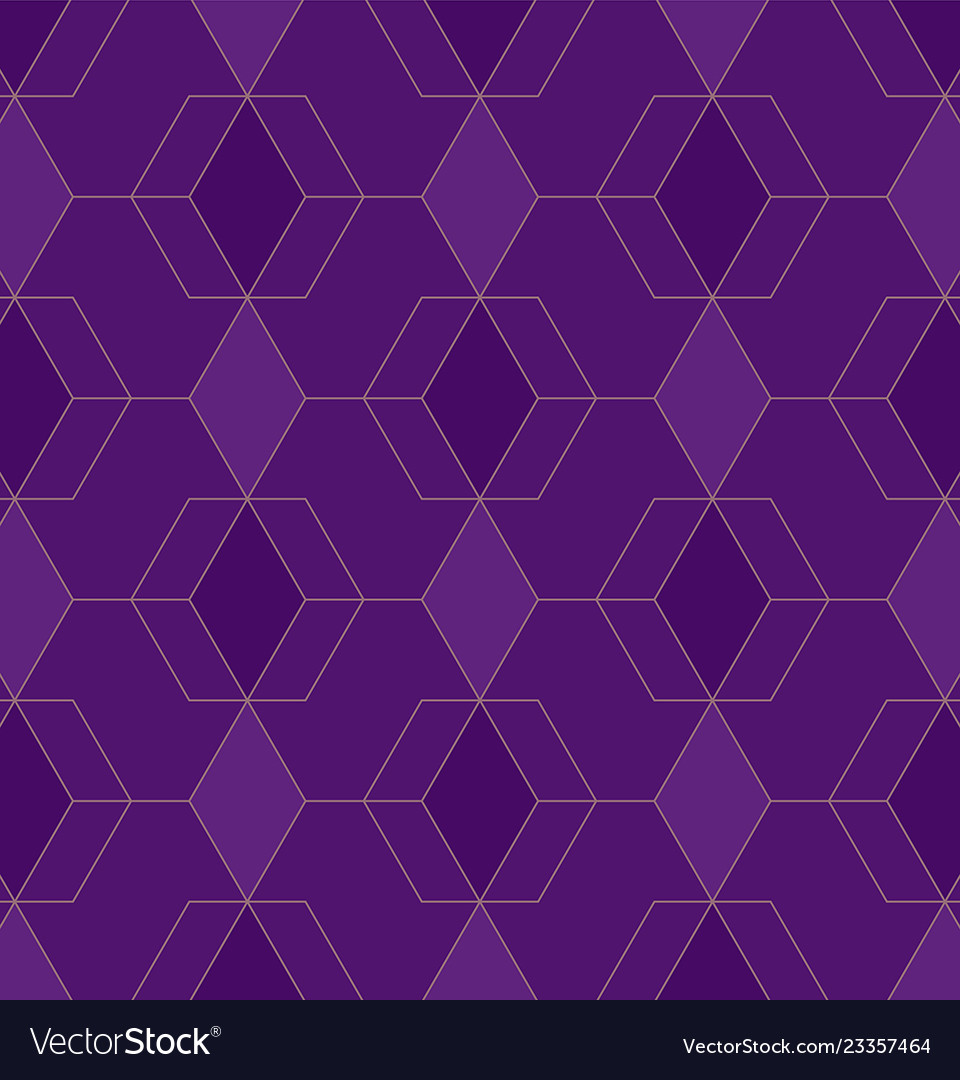 Abstract geometric pattern with lines on violet