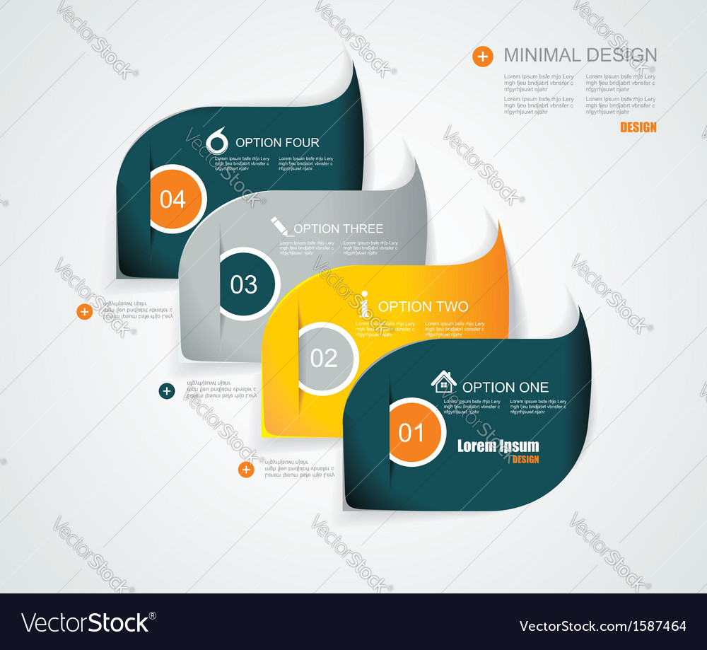 Modern infographics template style Can be used for vector image