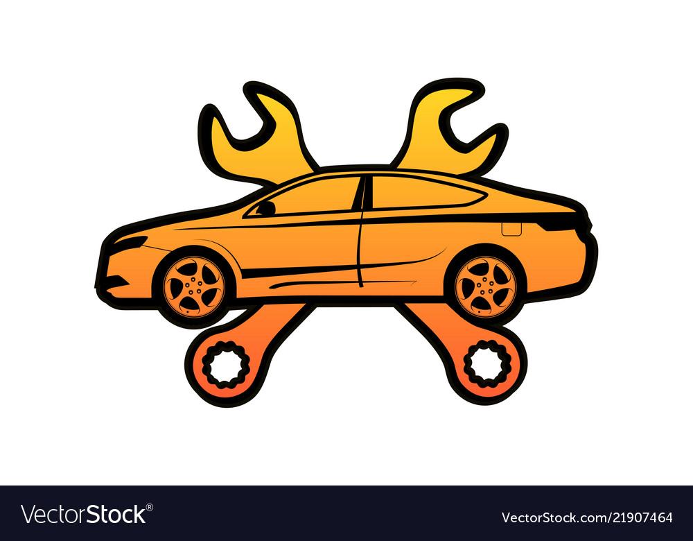 Repair auto icon