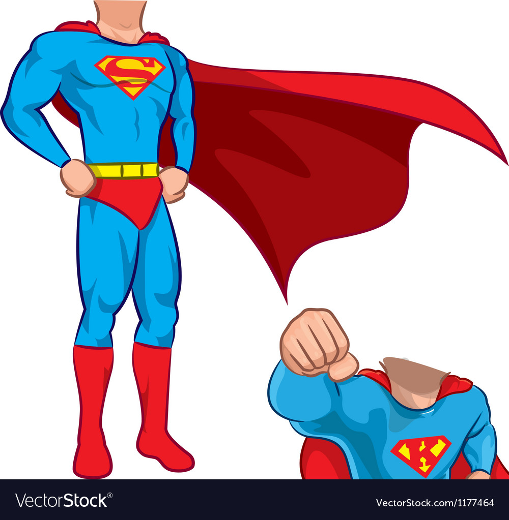 superhero royalty free vector image vectorstock rh vectorstock com superhero vector art superhero vector free