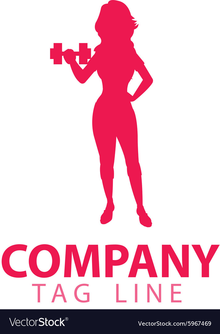 Female Fitness Logo