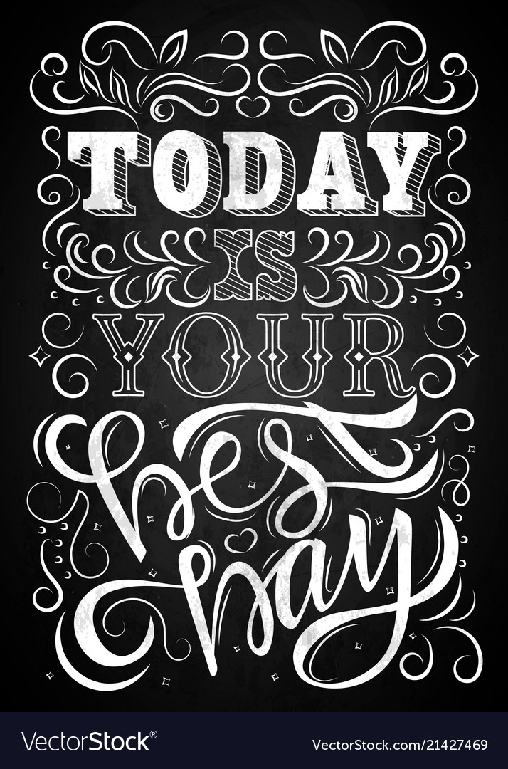 Lettering phrase message2