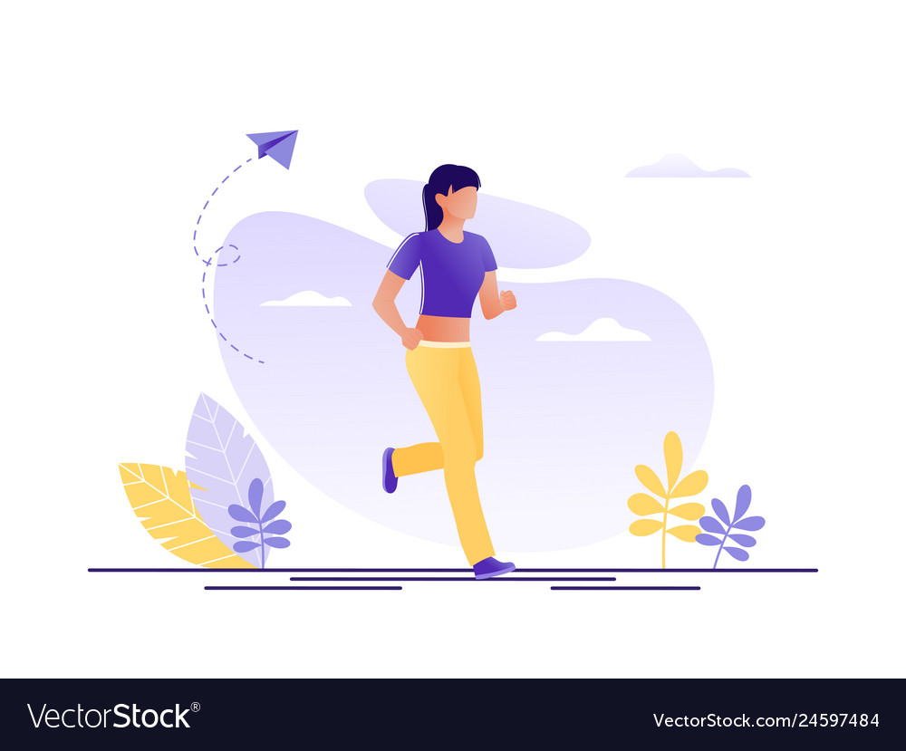 Sport healthy lifestyle running jogging woman
