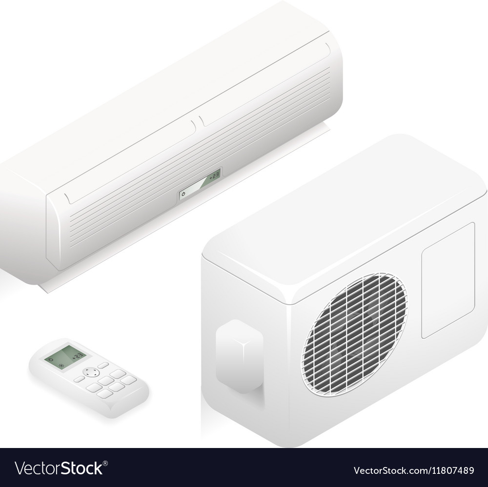 Air conditioner 3d home summer
