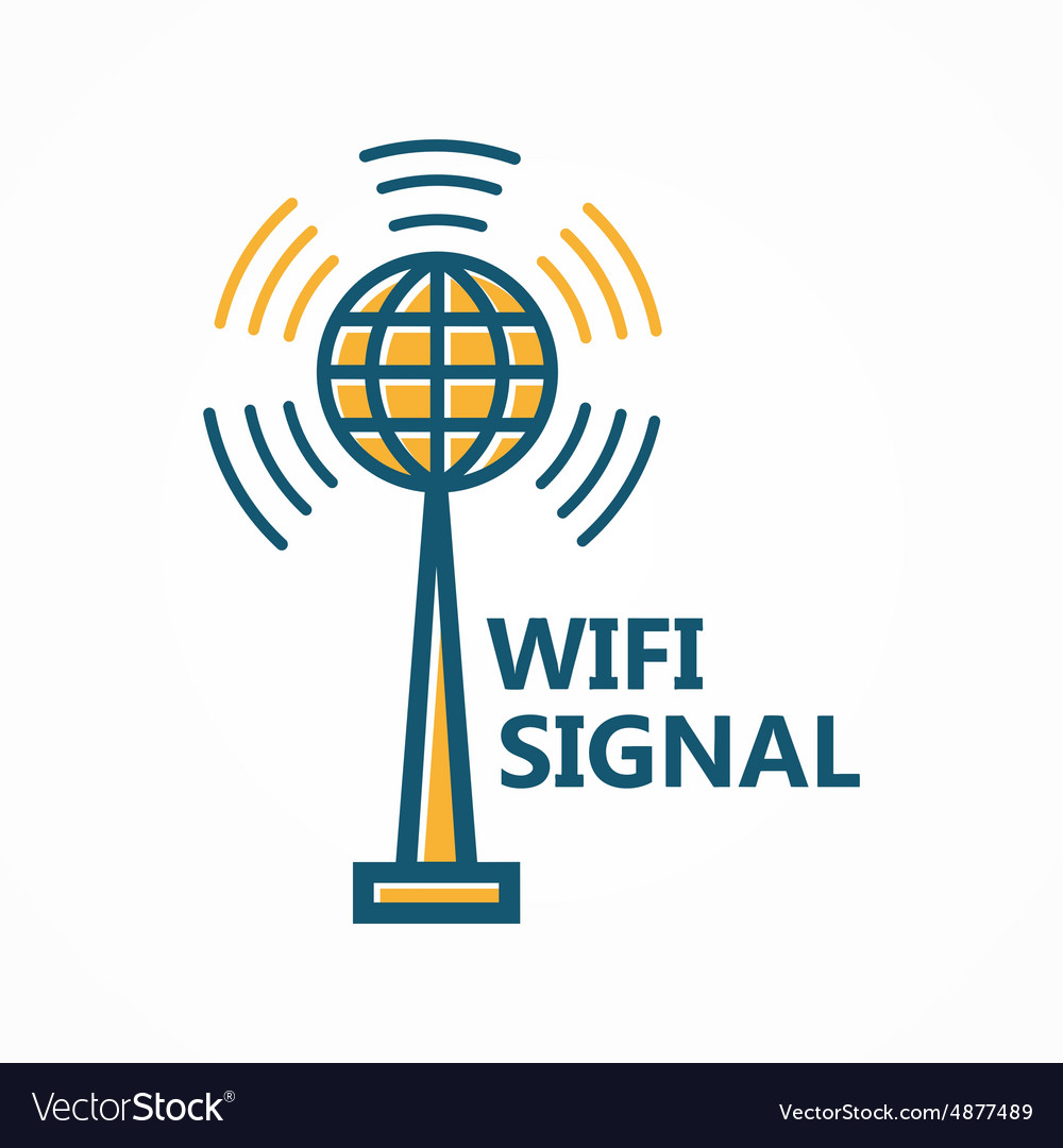 Antenna tower icon or logo