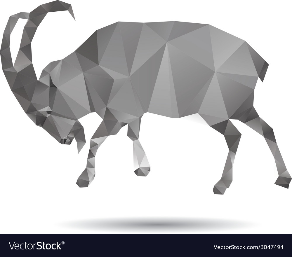 Abstract goat