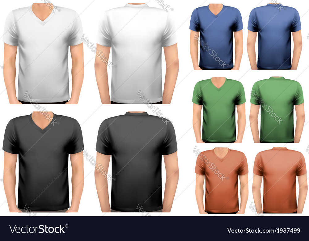 Black and white and color men t-shirts Design