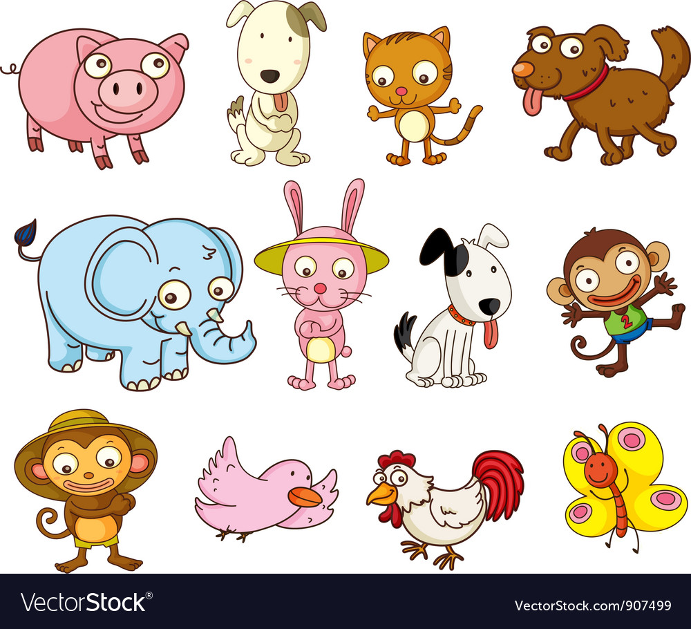 Of pictures cartoon animals