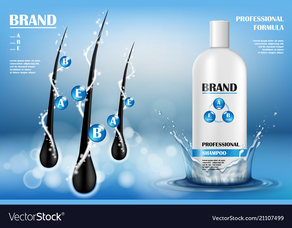 Cosmetic ads template white plastic tube with