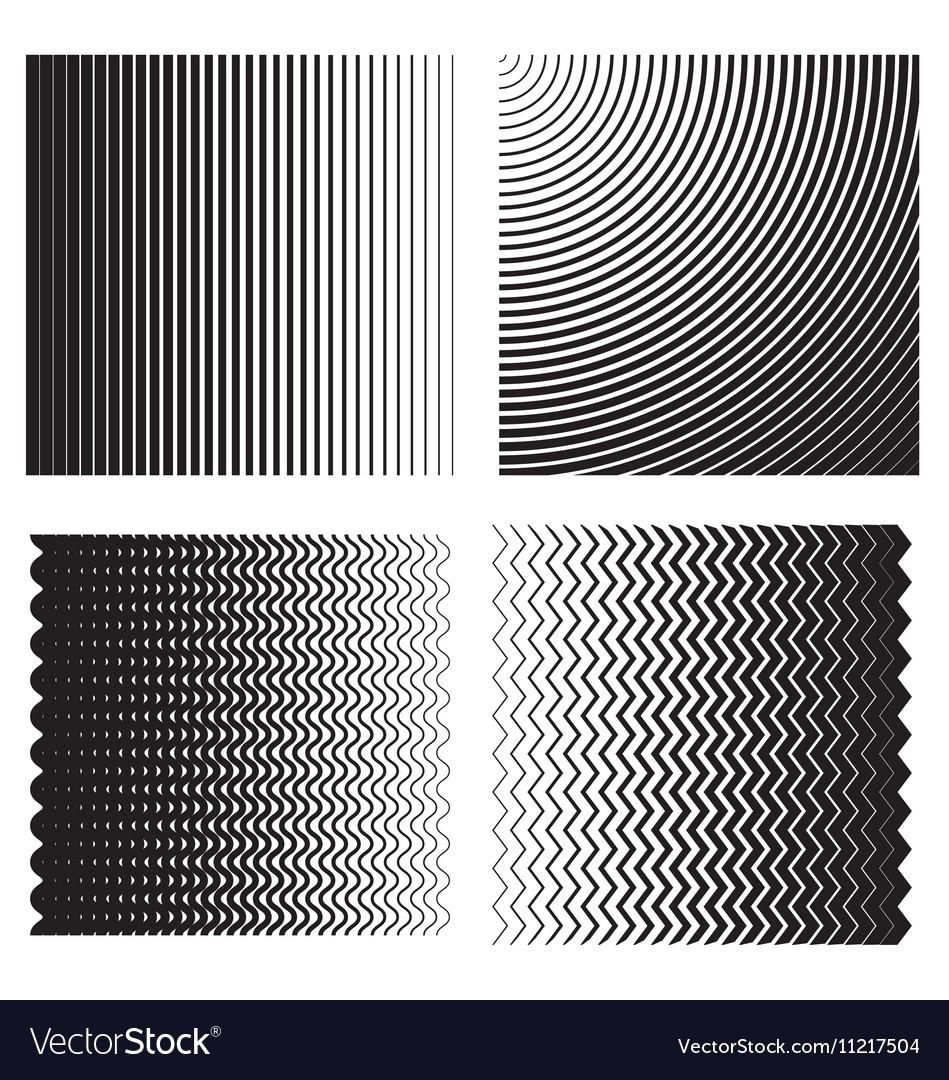 Line gradient effects