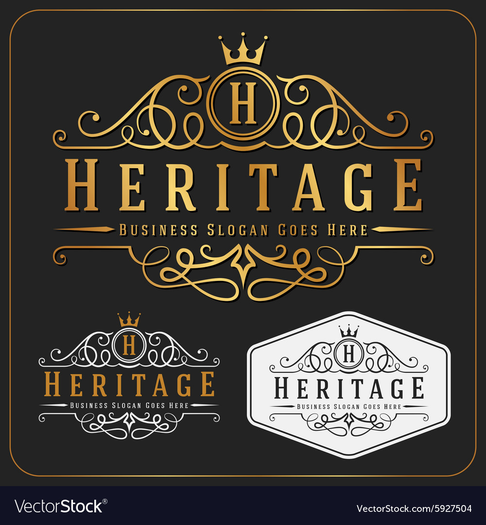 Luxurious Royal Logo Re-sizable Design
