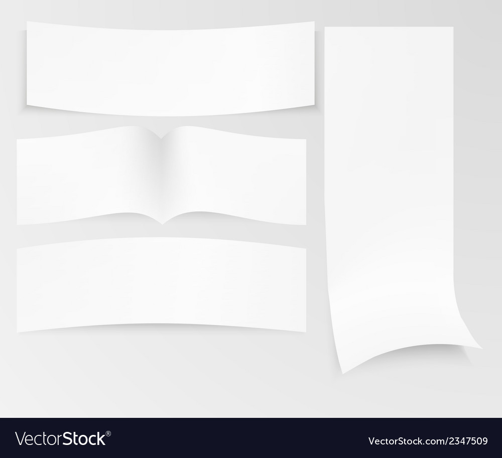 stack of paper royalty free vector image - vectorstock