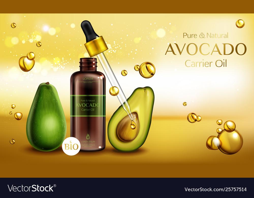 Organic Beauty Products >> Avocado Cosmetics Oil Organic Beauty Product