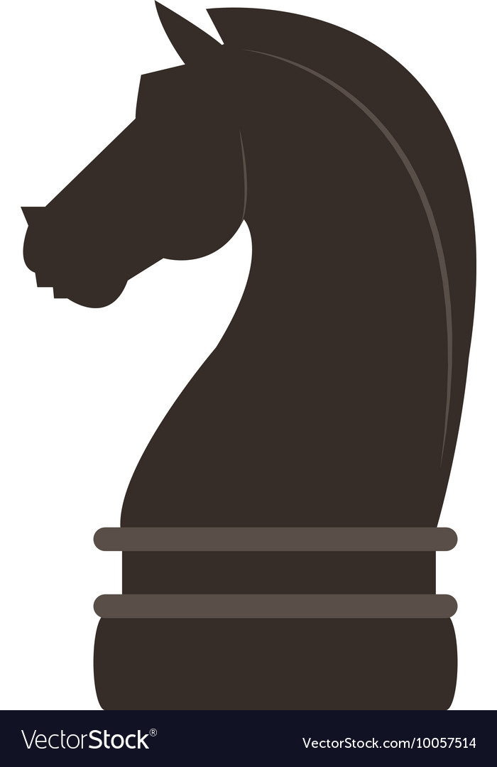 Horse Chess Piece Icon Royalty Free Vector Image