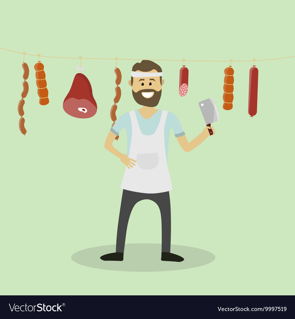 Butcher Meat seller