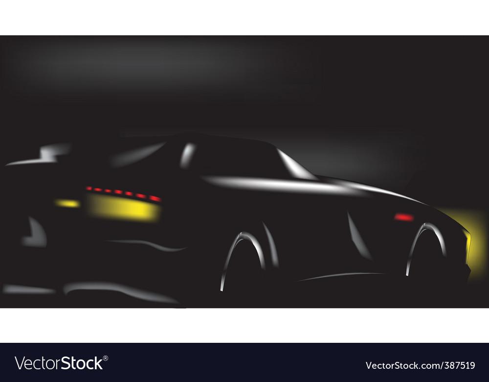 Sport scar vector image