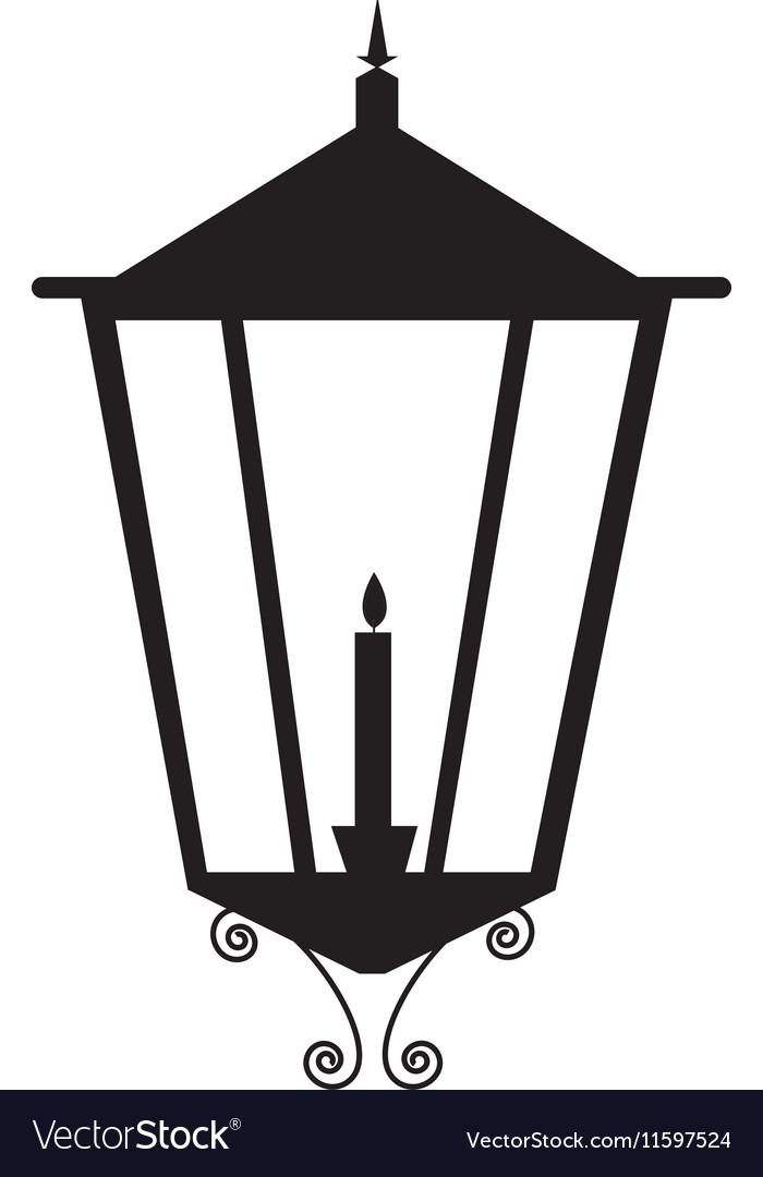 Street lamp icon image vector image