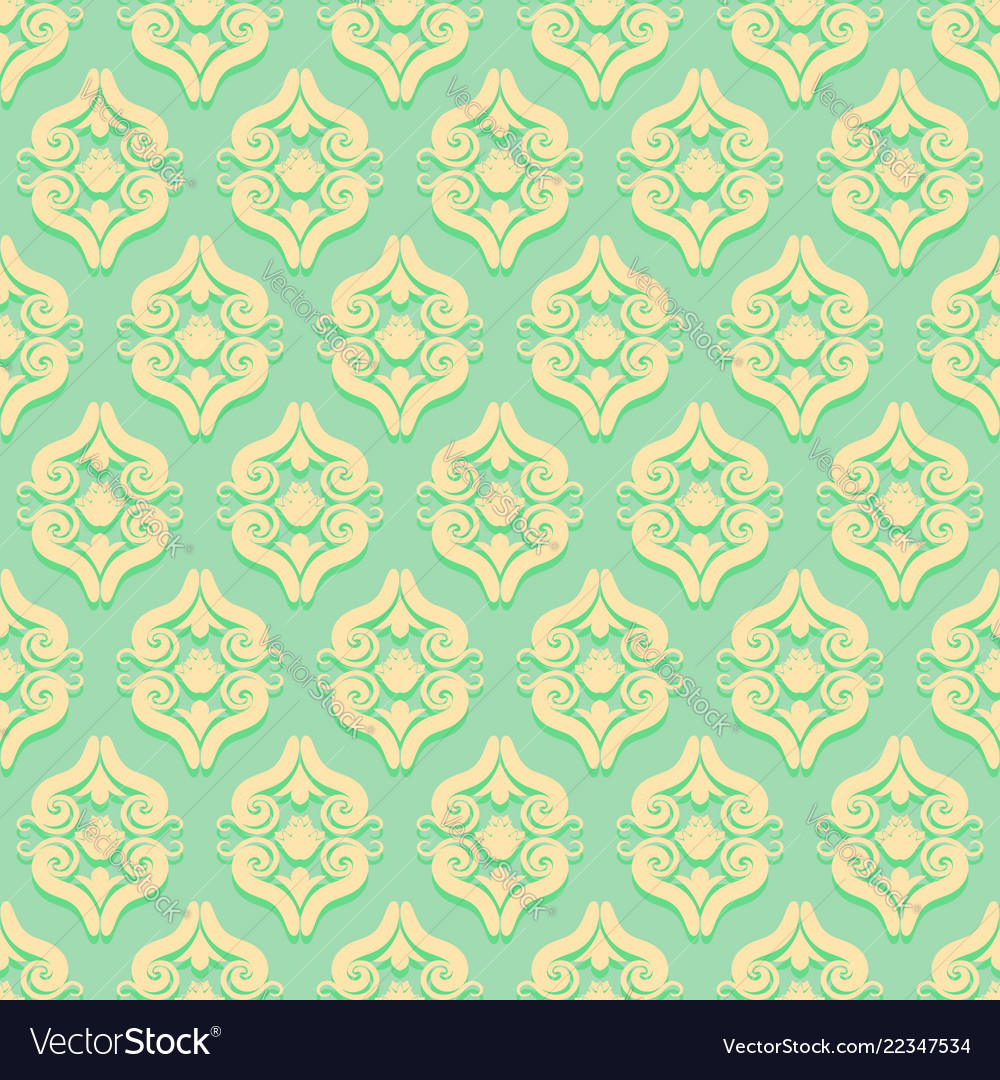 Vintage seamless pattern in victorian style