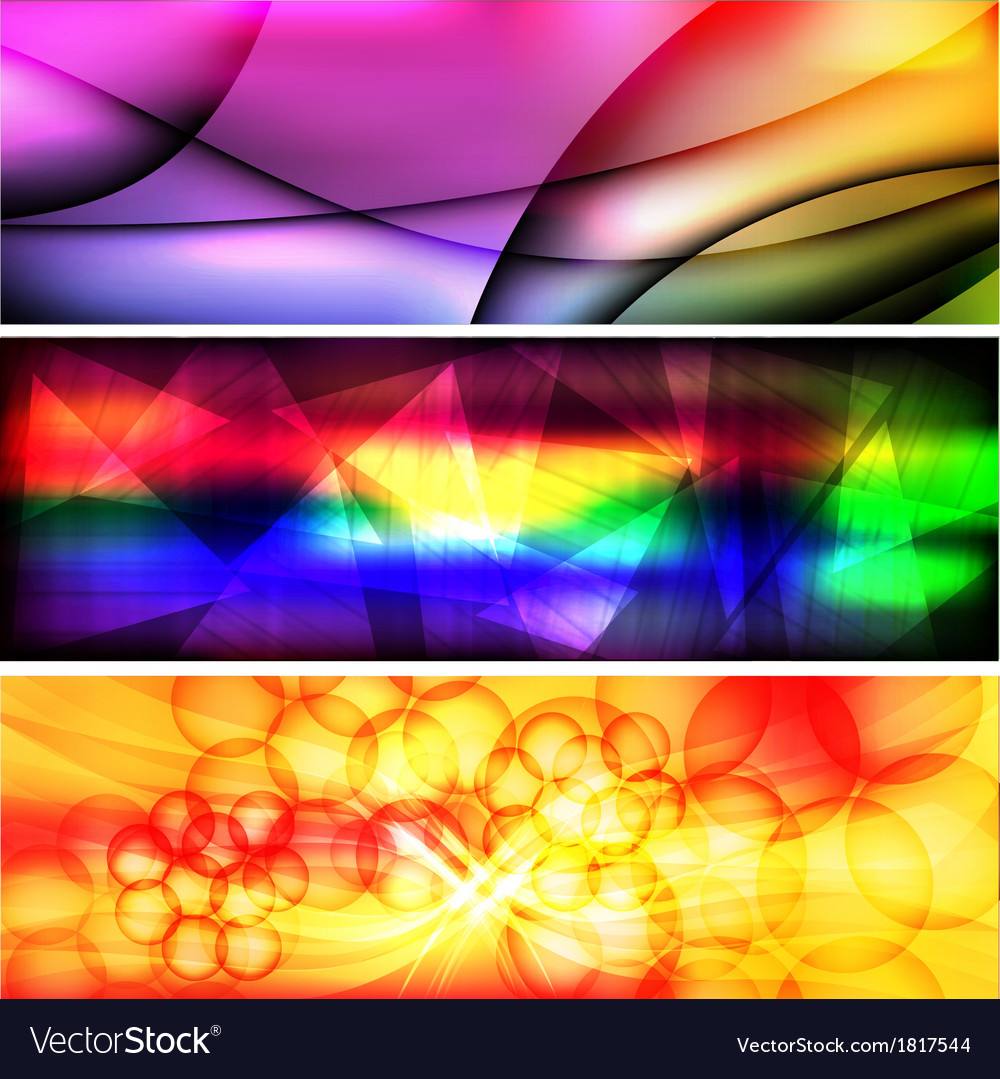 Abstract background banner 1