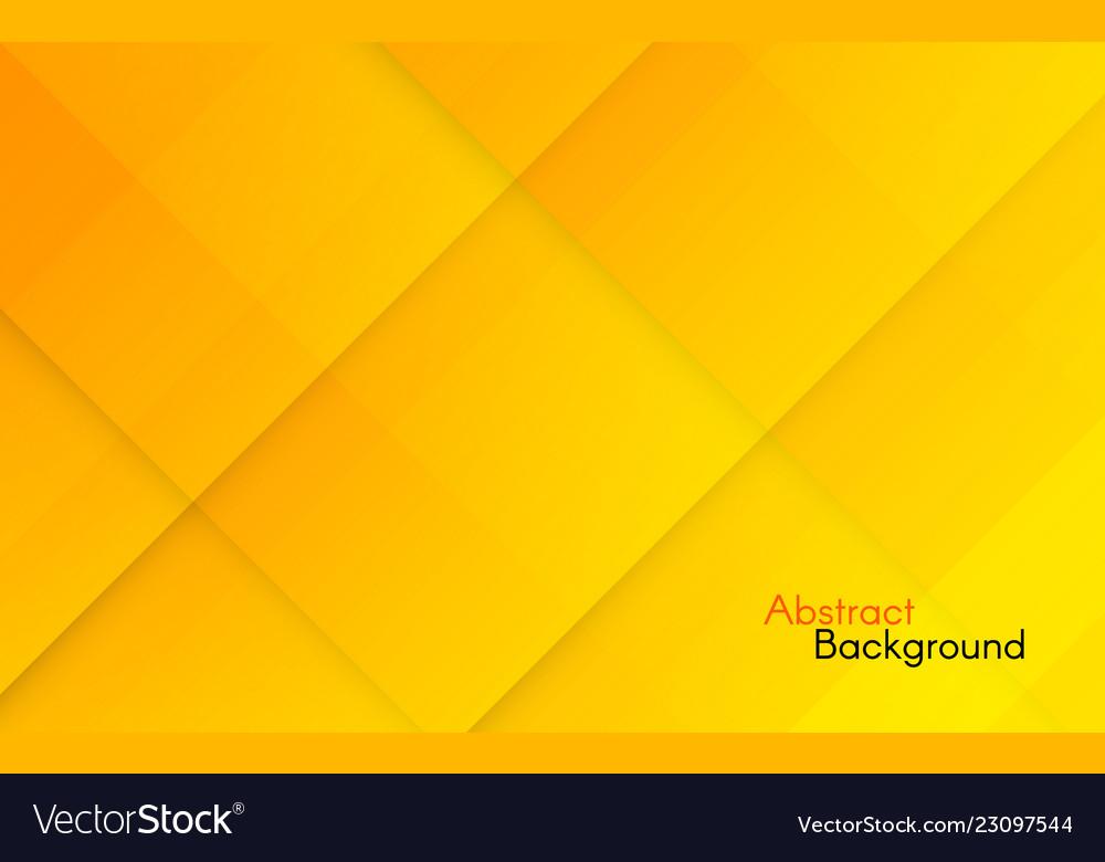 Abstract orange background yellow geometric