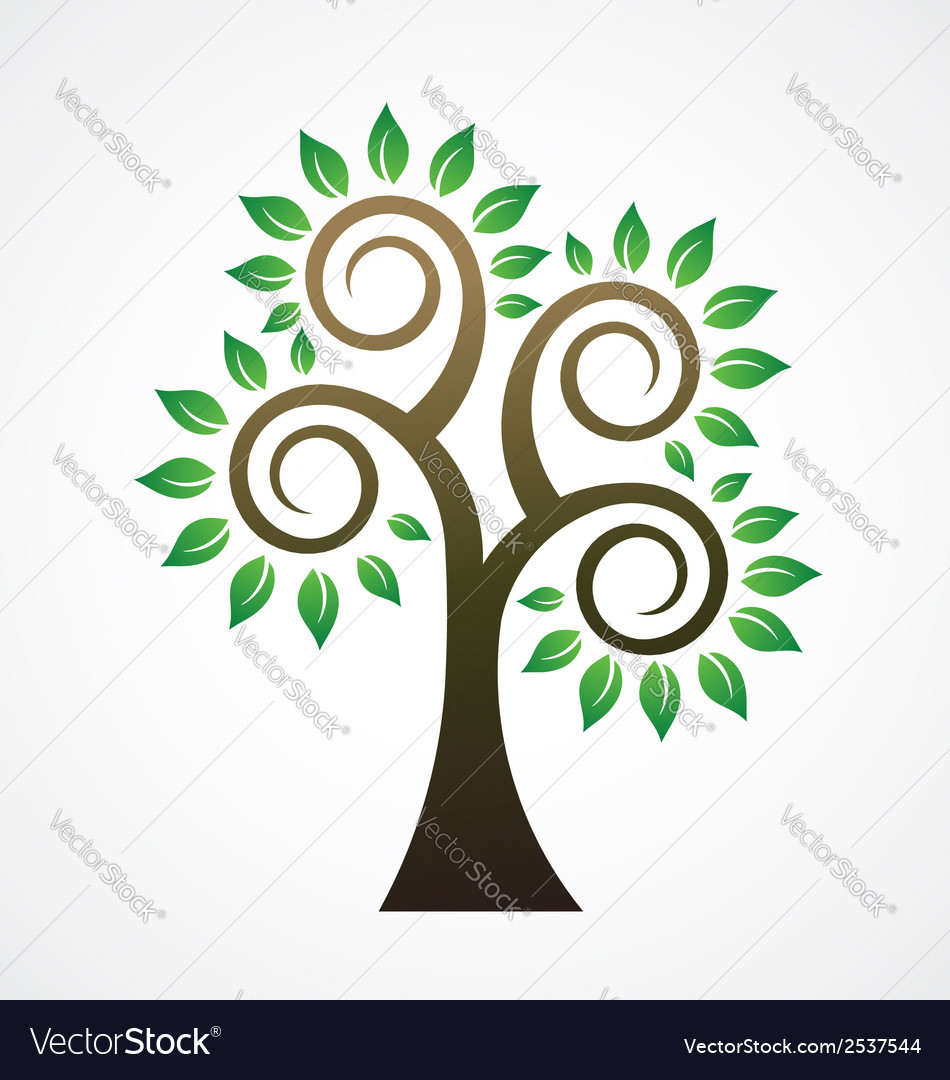 Spiral tree image ilogo