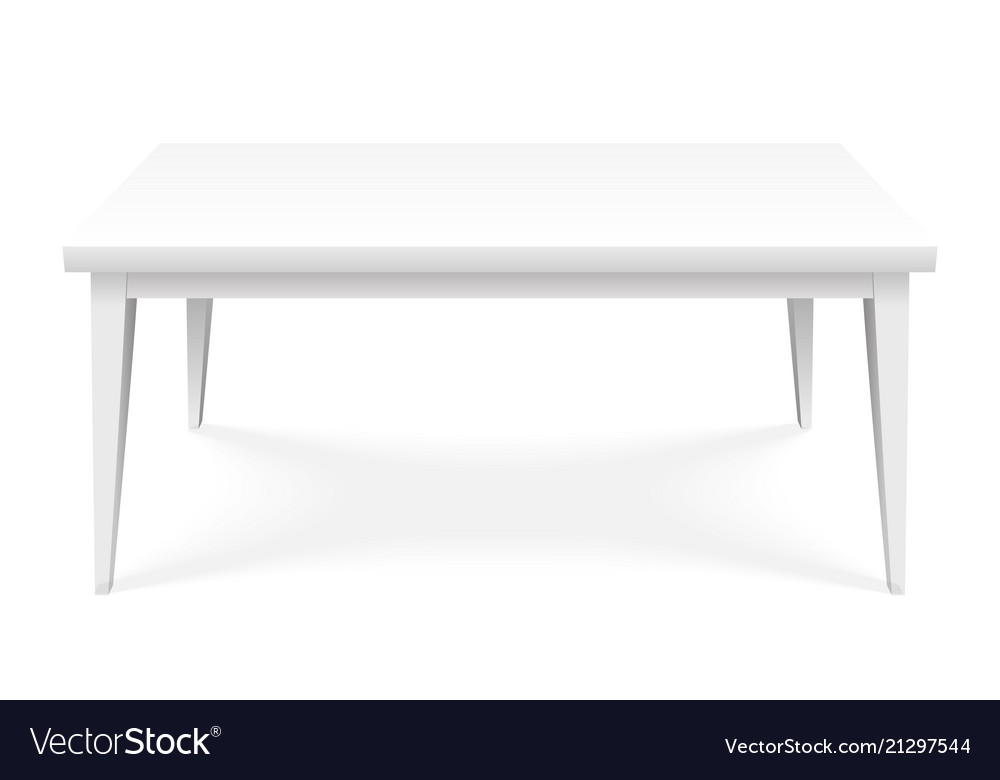 Table empty platform stand surface isometric top