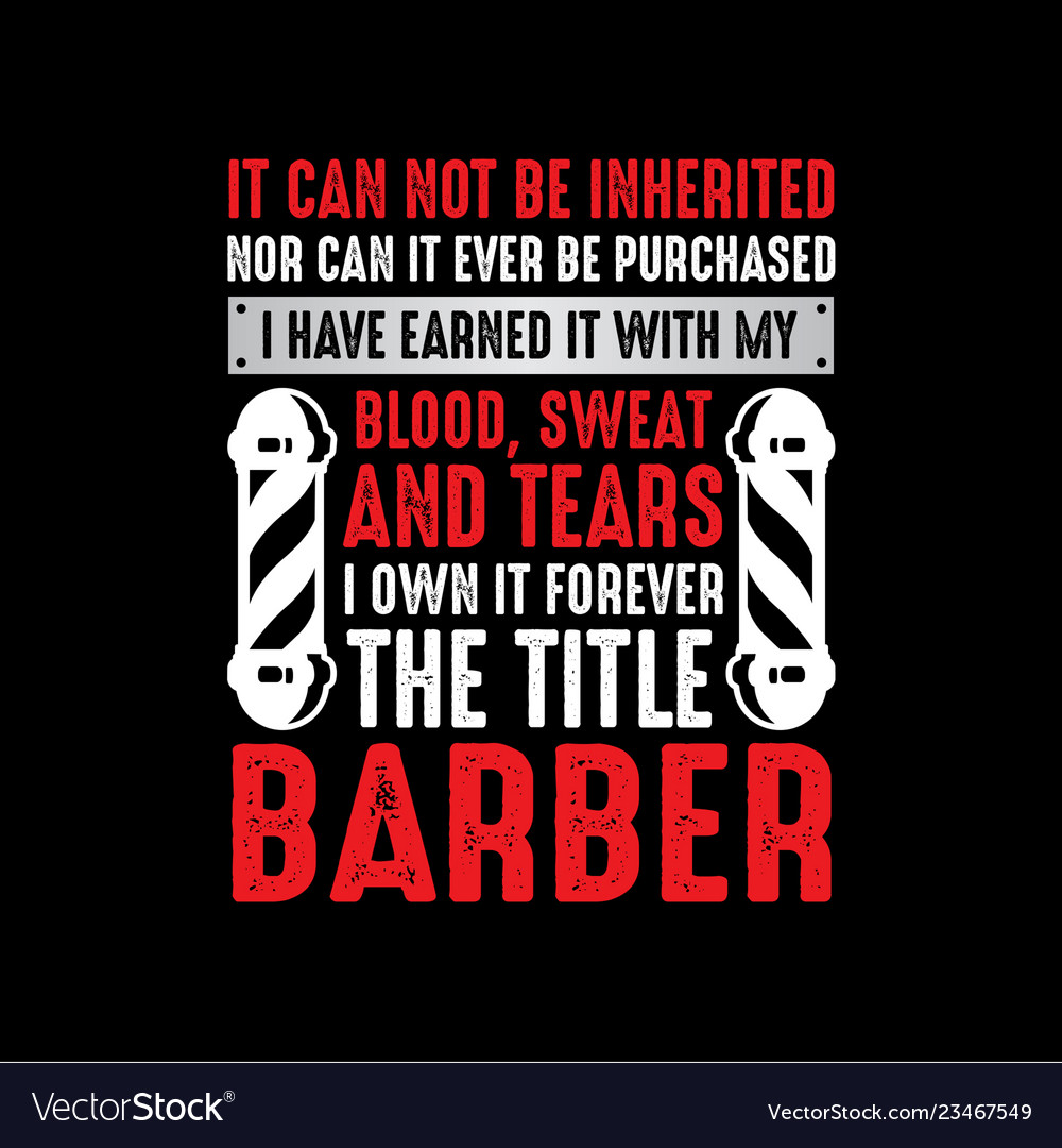 barber sayings vector images