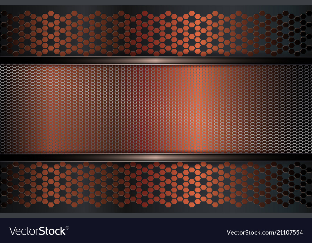 Geometric Texture Dark Gray Brown Background With Vector Image