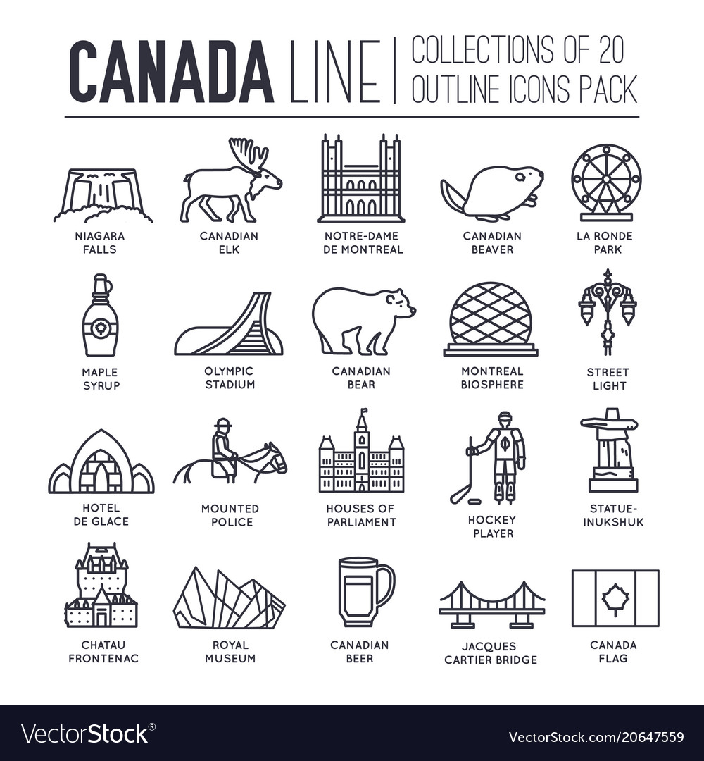 Country canada travel vacation guide of goods