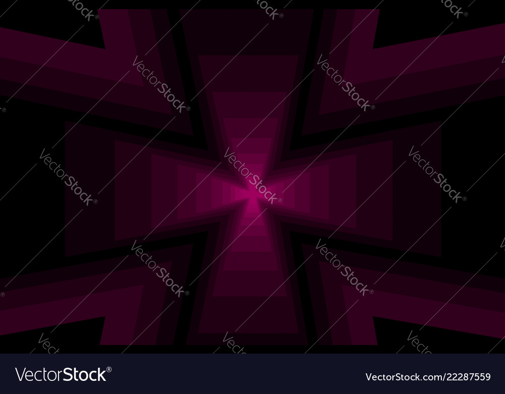 Cross - abstract geometric background
