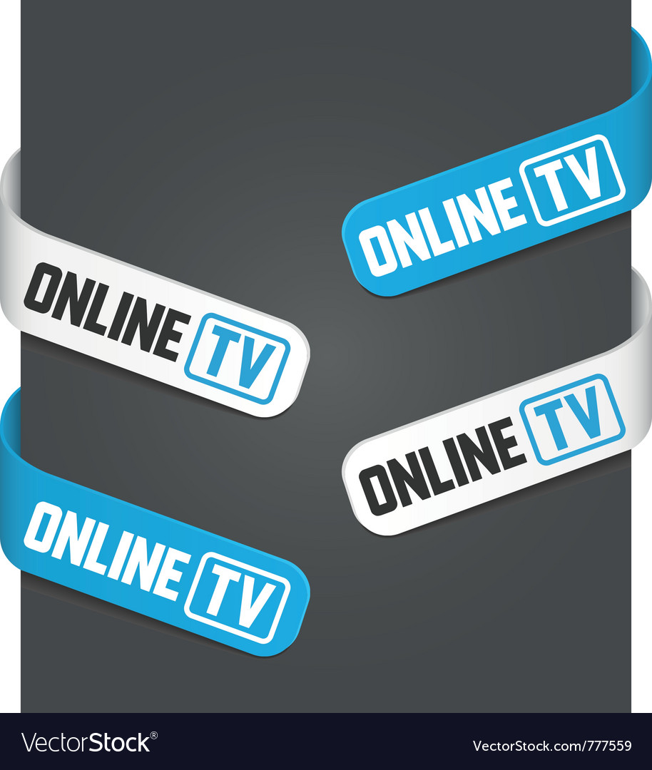 Left and right side signs - online tv
